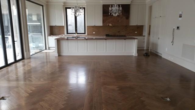 Herringbone Parquetry Flooring – By Masterfloors