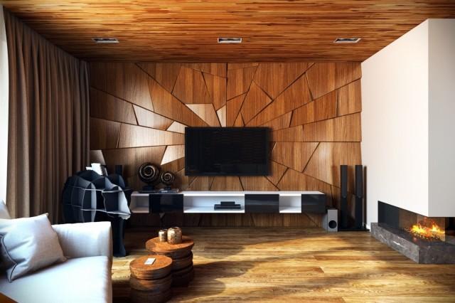 Timber Flooring Feature Art Work