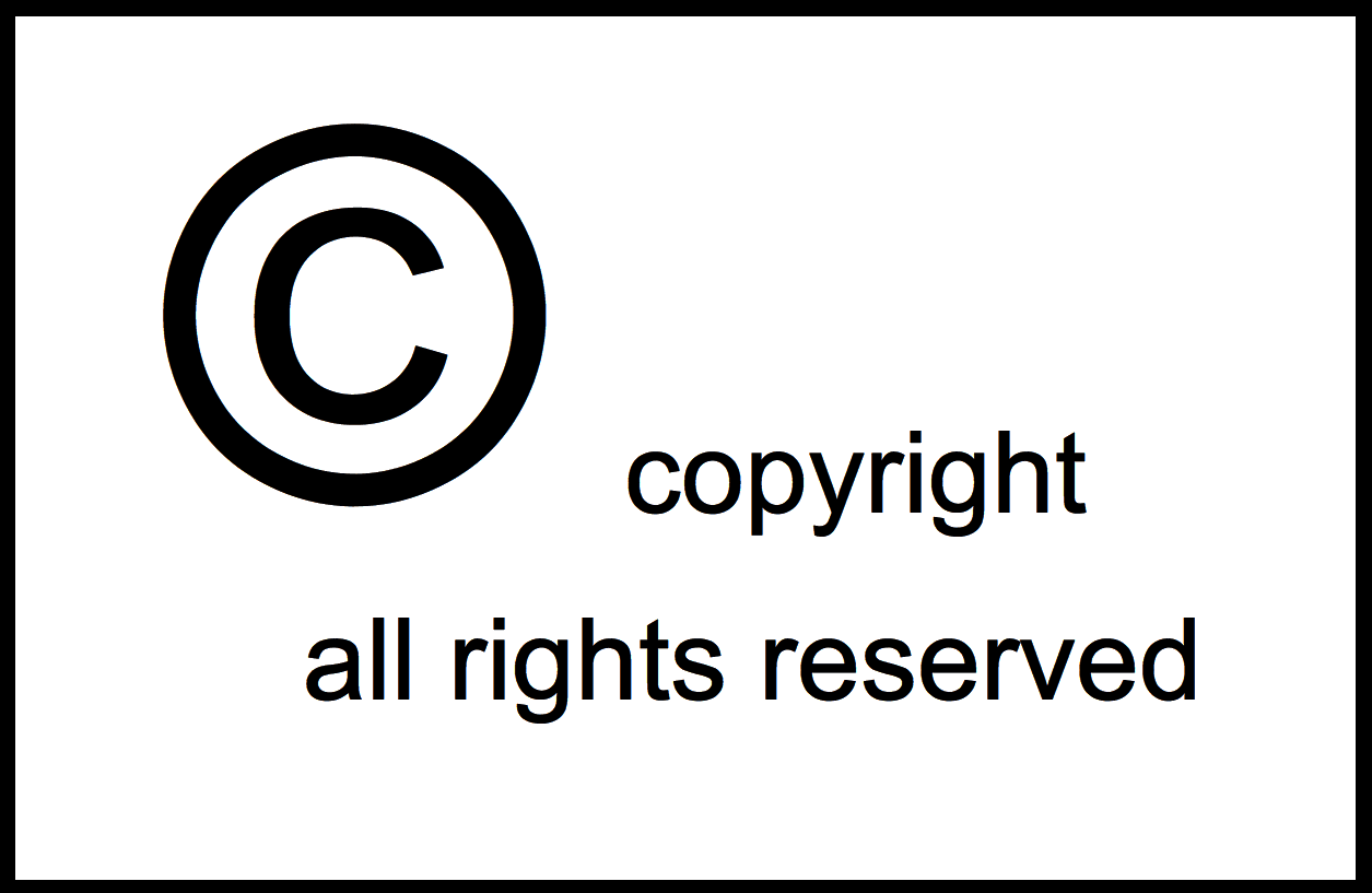 All Rights Reserved Symbol Forteforic