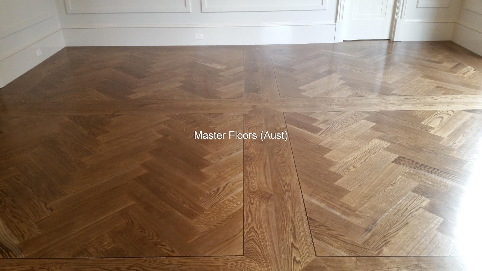 Herringbone Parquetry Flooring By Masterfloors