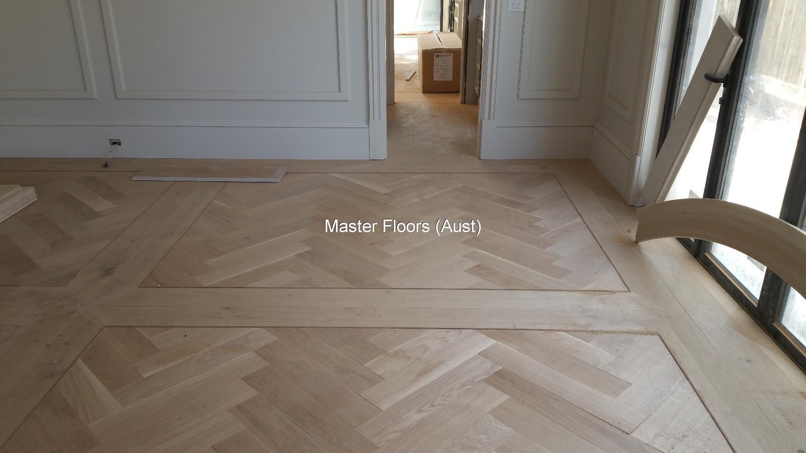 Herringbone Parquetry Flooring By